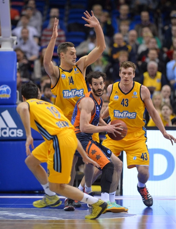 Pau Ribas - Valencia Basket (photo Camera4)