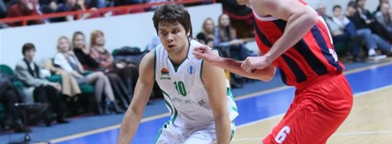 Unics and point guard Sergeev reunite