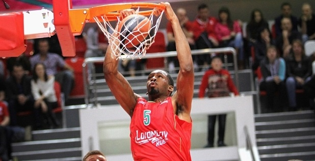 Derrick Brown - Lokomotiv Kuban - EB13