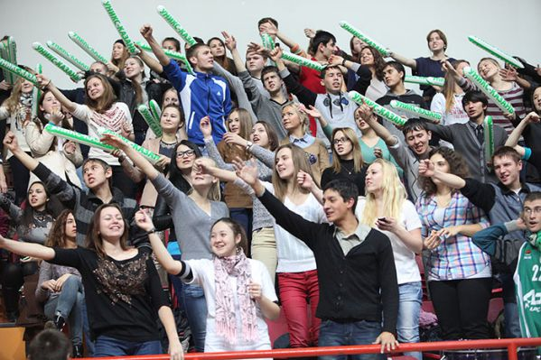 Unics Kazan fans - EC13 (photo unics.ru)