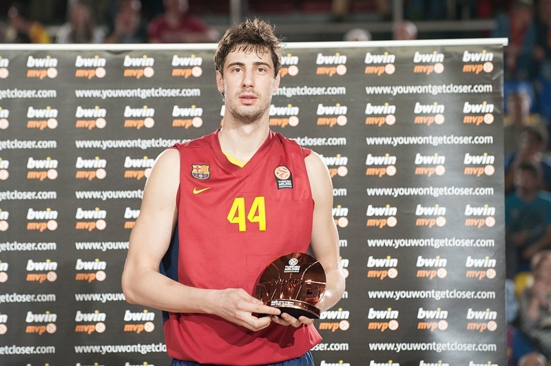 Ante Tomic, bwin MVP March 2014 - FC Barcelona - EB13