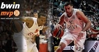 Playoffs Game 2 bwin co-MVPs: Ioannis Bourousis and Curtis Jerrells