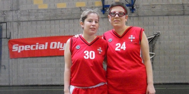 Trombetta sisters exemplify benefits of Unified basketball