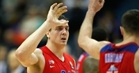 Playoffs Game 5 bwin MVP: Sasha Kaun, CSKA Moscow