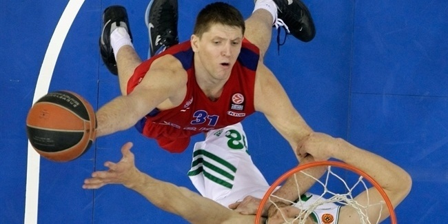 CSKA forward Khryapa out indefinitely