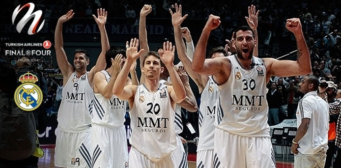 Road to Milan: Real Madrid - News - Welcome to 7DAYS EuroCup