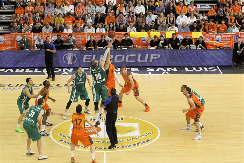 Tip Off Finals Eurocup 2014, Valencia Basket vs. Unics Kazan - EB13