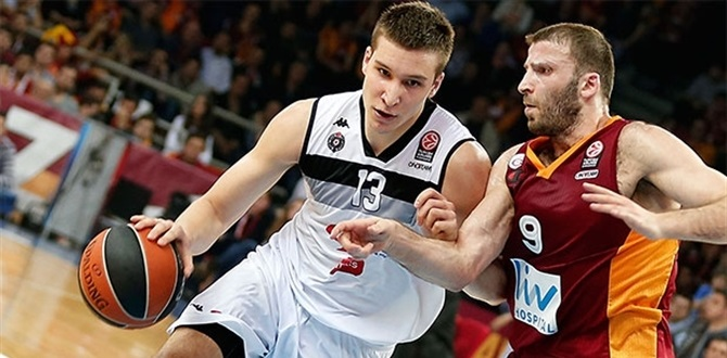 Euroleague coaches choose Partizan's Bogdanovic for Rising Star Trophy