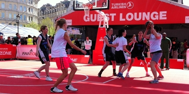 adidas successfully brings basketball to London