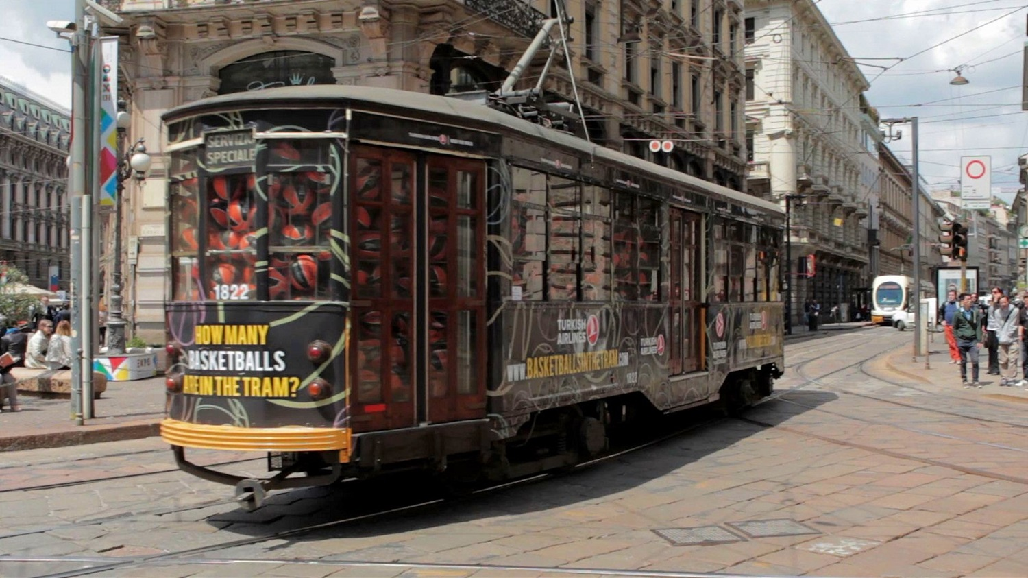Tram Basketballs - Final Four Milan 2014 - EC13