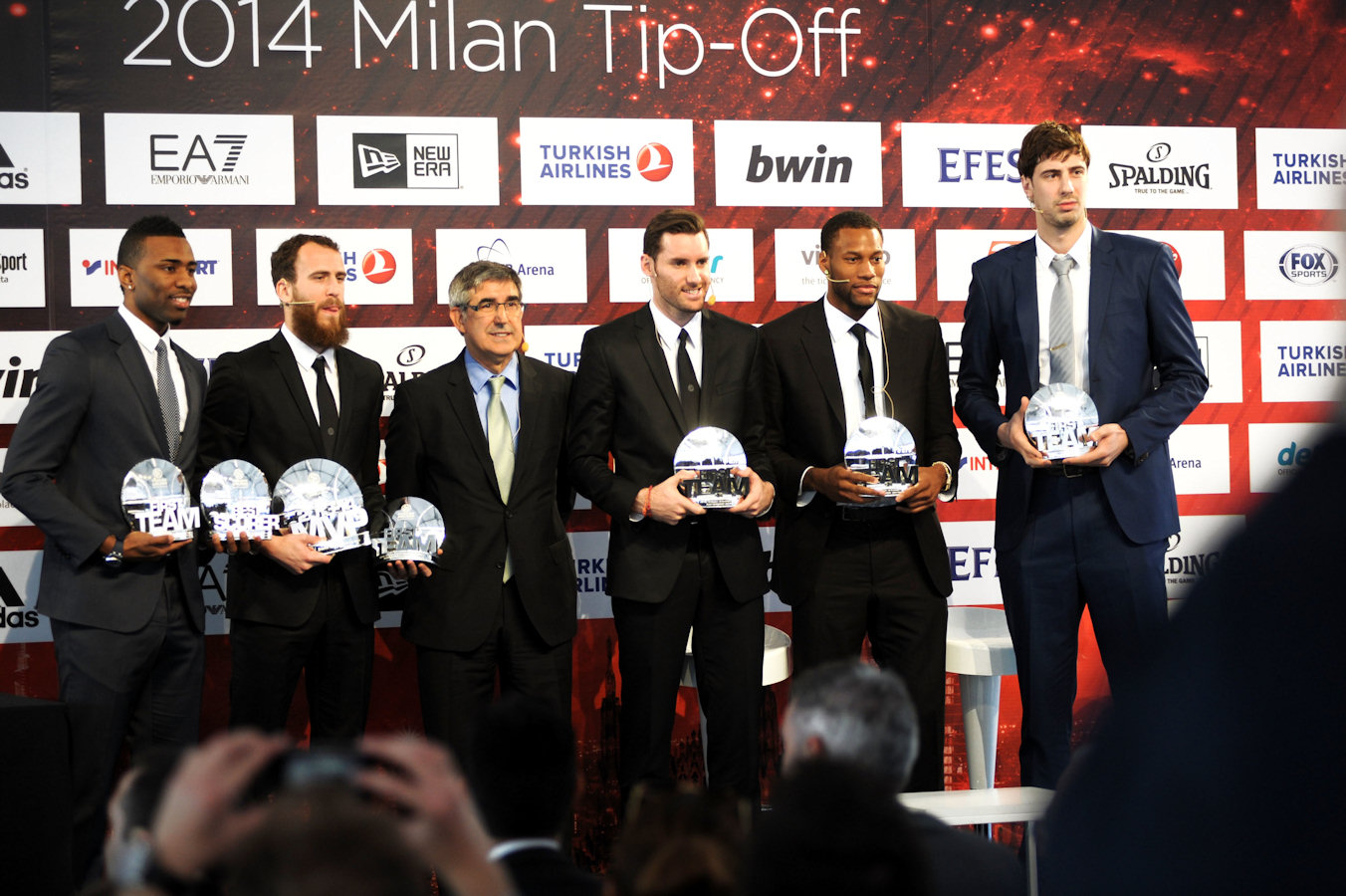 All-Euroleague First Team 2013-14  - Final Four Milan 2014