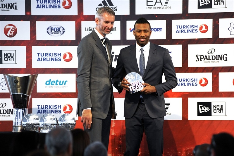 Keith Langford - All-Euroleague First Team 2013-14  - Final Four Milan 2014