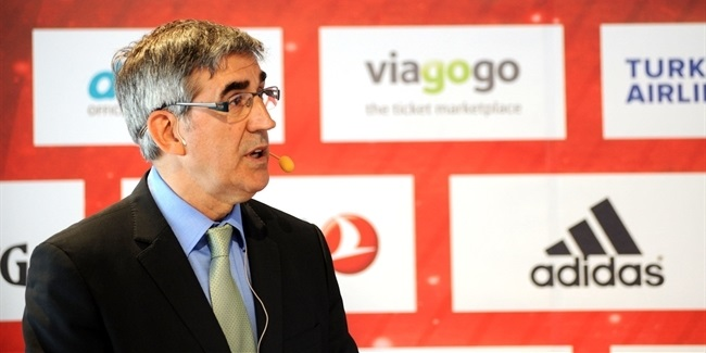 Jordi Bertomeu, Euroleague Basketball CEO and President