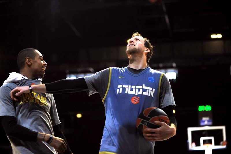 Joe Ingles - Maccabi Electra - Final Four Milan 2014
