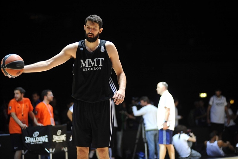 Nikola Mirotic - Real Madrid - Final Four Milan 2014