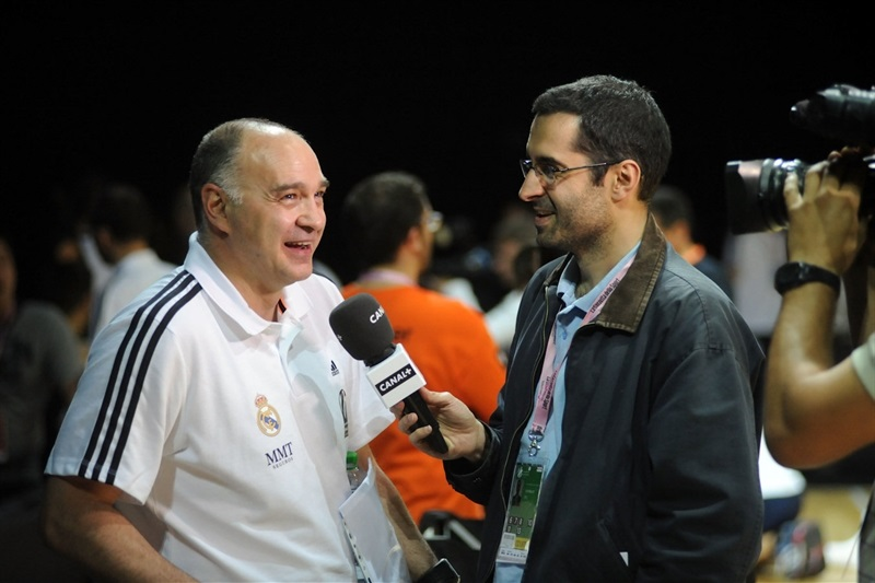 Pablo Laso - Real Madrid - Final Four Milan 2014