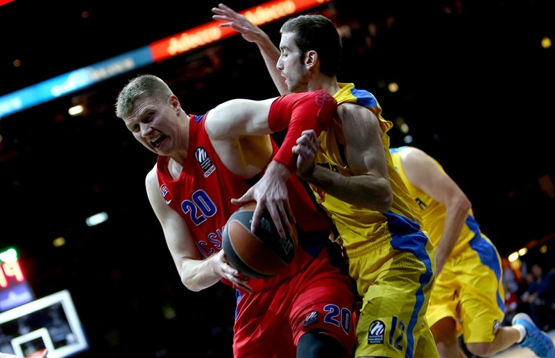 Andrei Vorontsevich - CSKA Moscow - Final Four Milan 2014