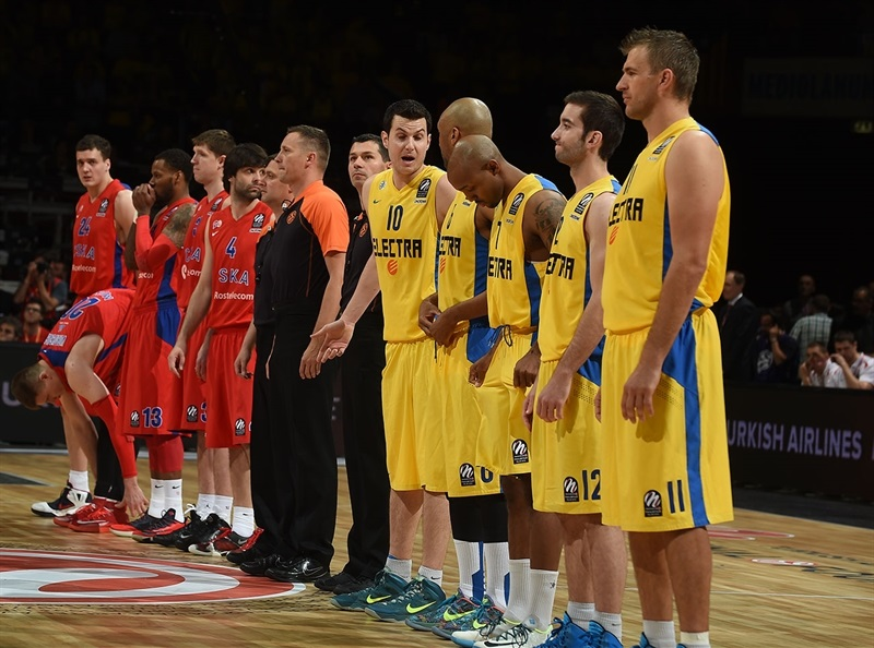 CSKA Moscow vs. Maccabi Electra - Final Four Milan 2014
