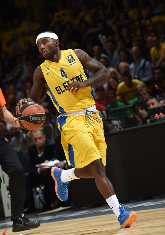 Tyrece Rice - Maccabi Electra - Final Four 2014