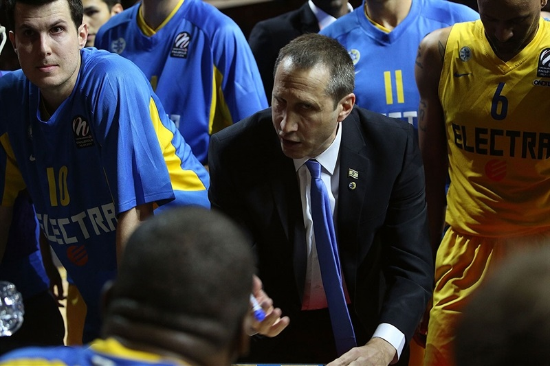 David Blatt - Maccabi Electra - Final Four Milan 2014