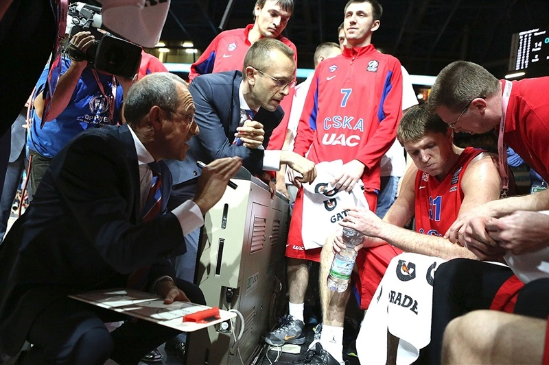 Ettore Messina - CSKA Moscow - Final Four Milan 2014