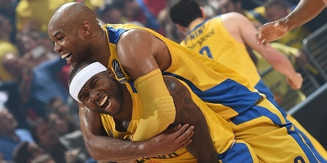 On This Day, 2014: Maccabi edges CSKA, Real blasts Barca in semifinals