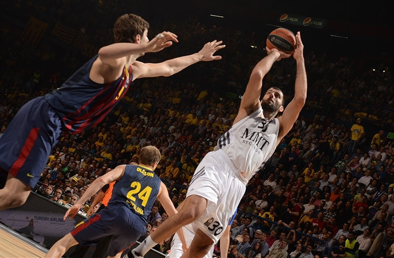 Ioannis Bourousis - Real Madrid - Final Four Milan 2014