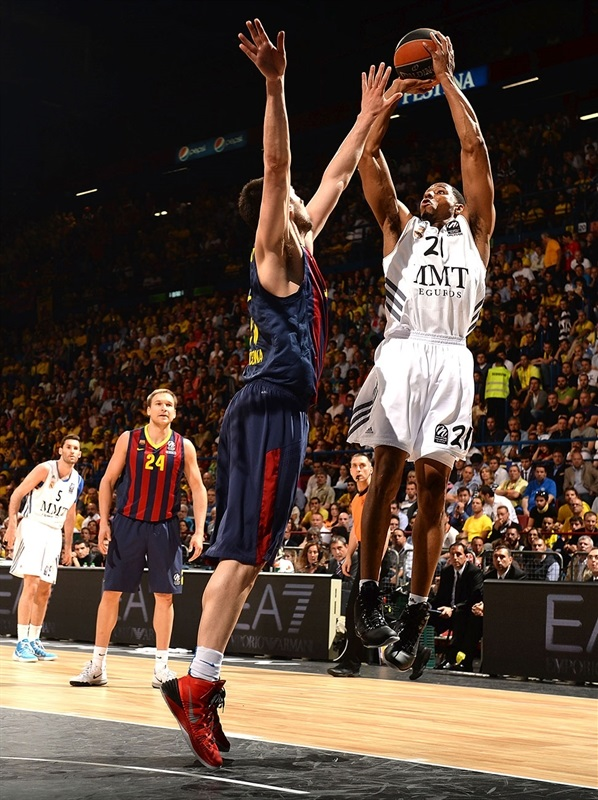 Tremmell Darden - Real Madrid - Final Four Milan 2014