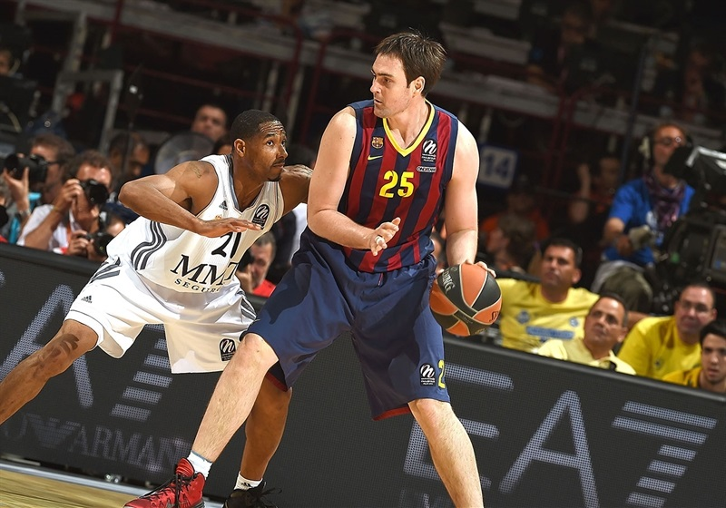 Erazem Lorbek - FC Barcelona - Final Four Milan 2014