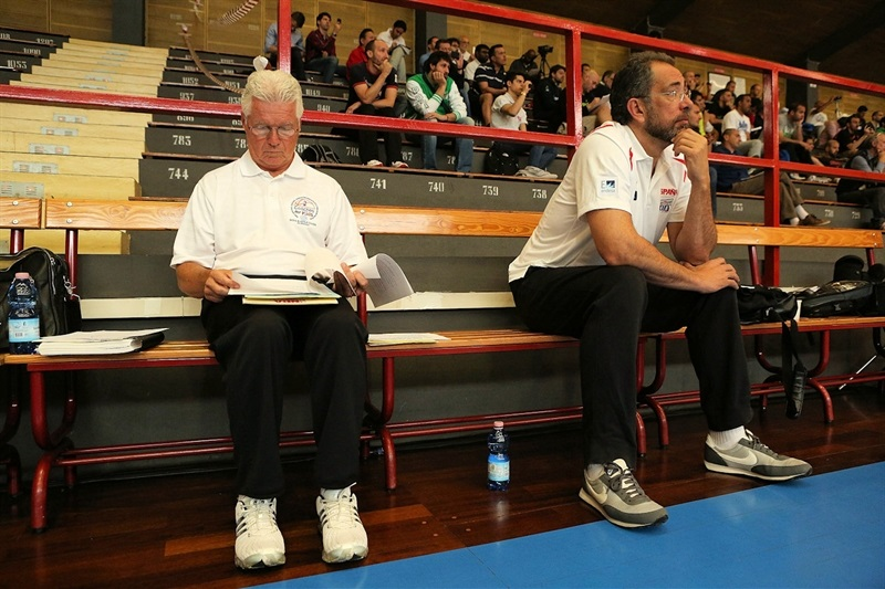 Brian Hill and Juan Antonio Orenga - Coaches Clinic - Final Four Milan 2014