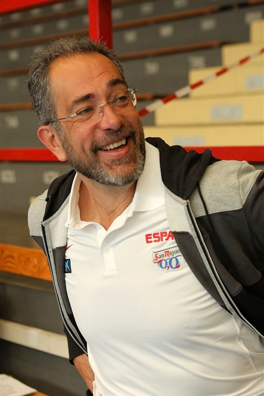 Juan Antonio Orenga - Coaches Clinic - Final Four Milan 2014
