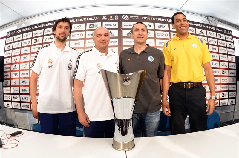 Championship Game Press Conference, Milan 2014