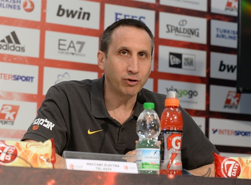 David Blatt of Maccabi Electra - Championship Game Press Conference, Milan 2014
