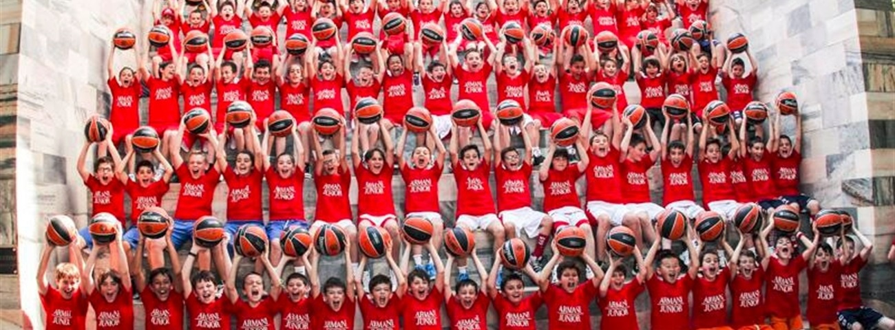 Armani Junior Basketball Invasion bounces through Milan