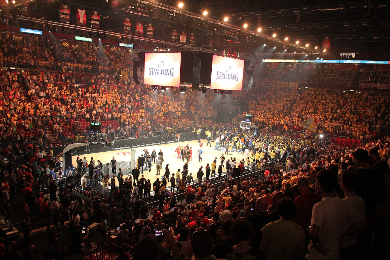 Mediolanum Forum in Semifinals - Final Four 2014
