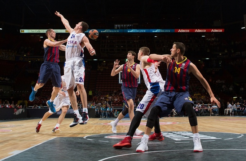 Marcelinho Huertas - FC Barcelona - Final Four Milan 2014