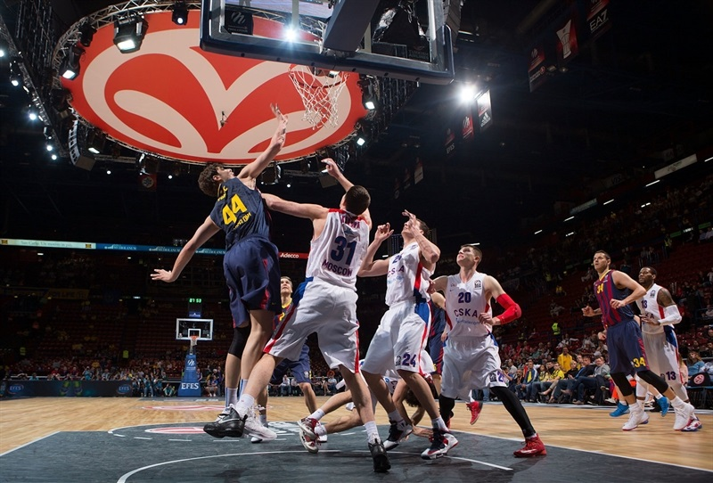 FC Barcelona vs. CSKA Moscow - Final Four Milan 2014