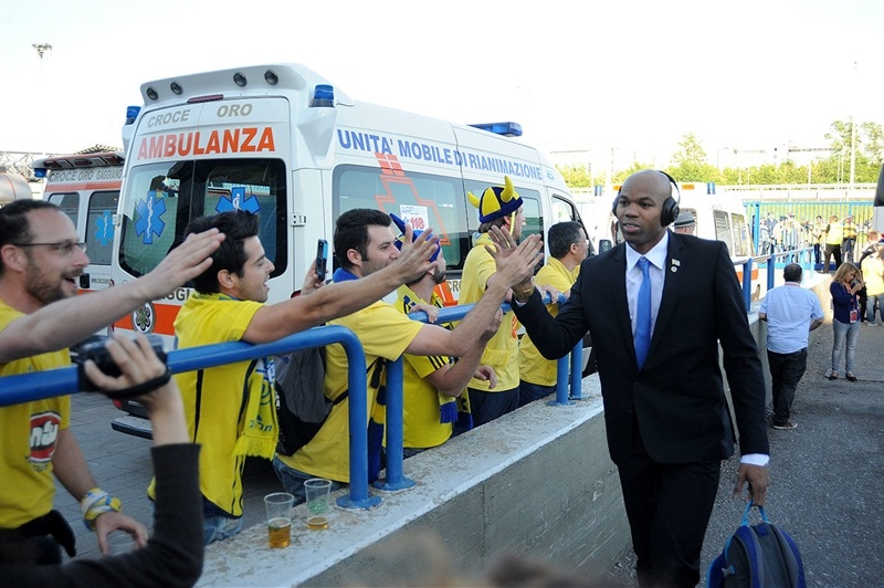 Alex Tyus - Maccabi Electra - Final Four Milan 2014