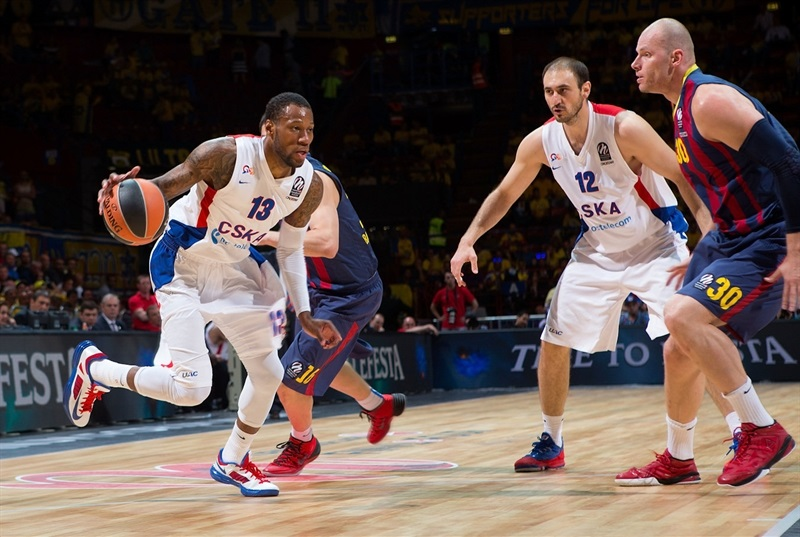 Sonny Weems - CSKA Moscow - Final Four Milan 2014