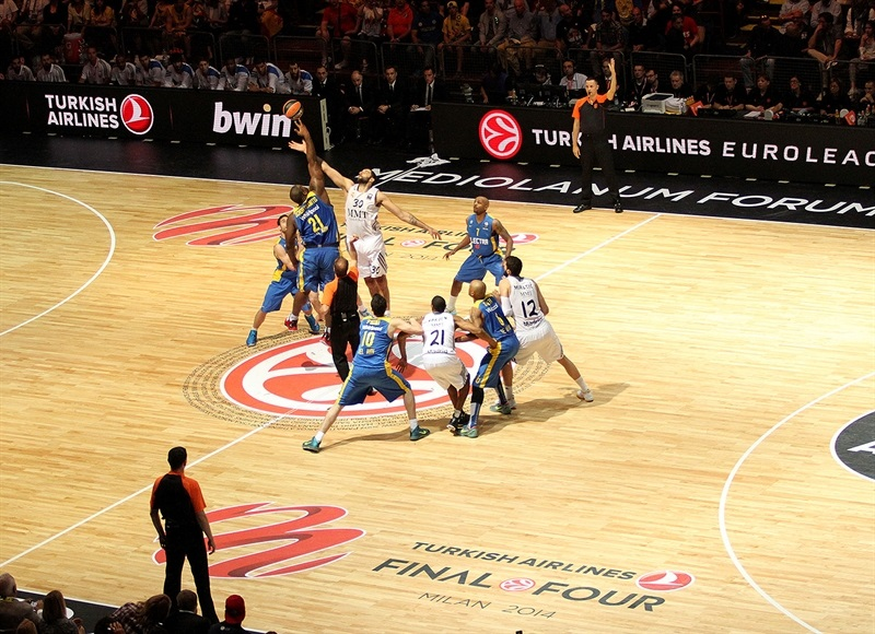 Tip Off Championschip Game, Real Madrid vs. Maccabi Electra - Final Four Milan 2014