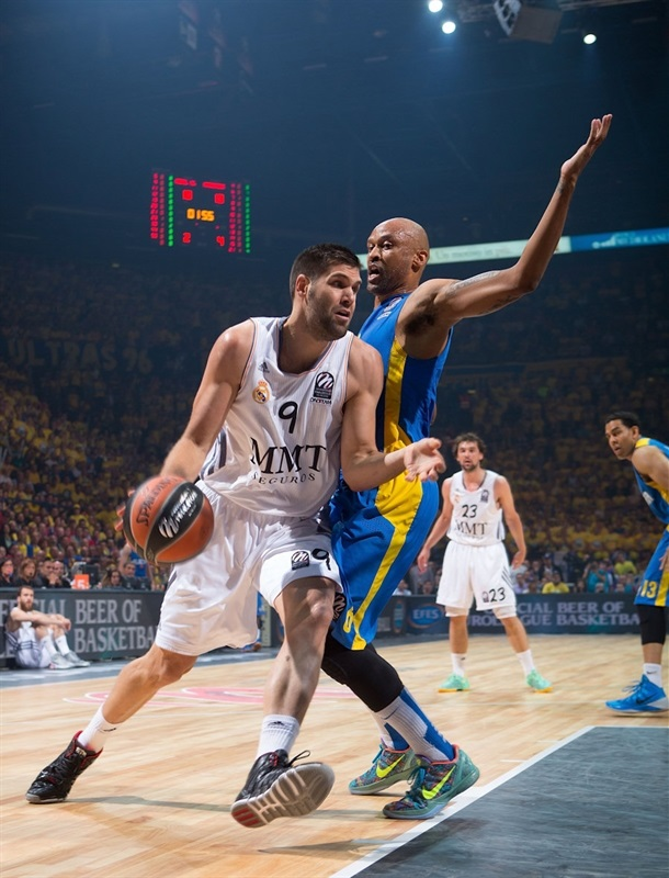 Felipe Reyes - Real Madrid - Final Four Milan 2014