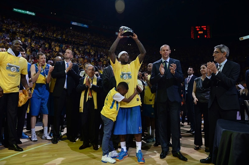Tyrese Rice MVP Final Four - Maccabi Electra - Final Four Milan 2014