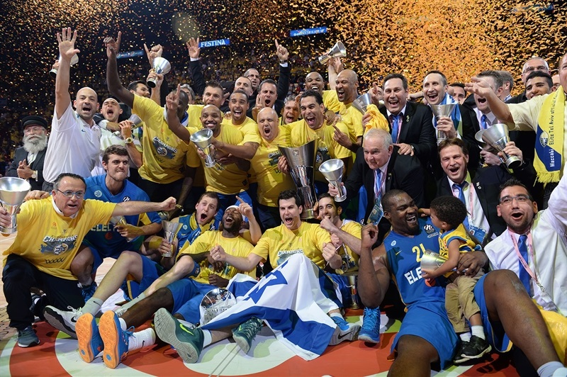 Maccabi Electra is the new Champ - Final Four Milan 2014