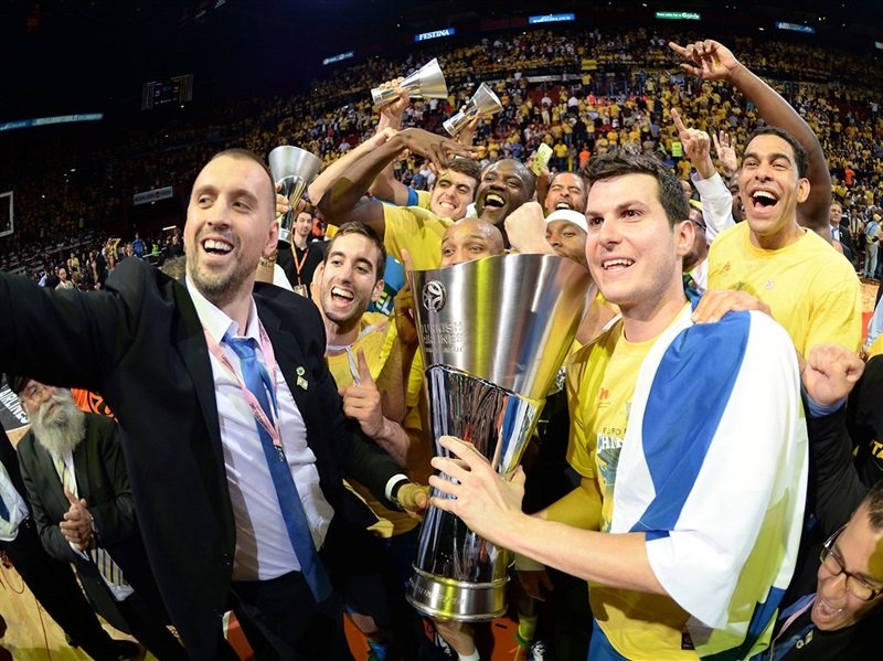 Guy Pnini, Maccabi Electra is the new Champ - Final Four Milan 2014