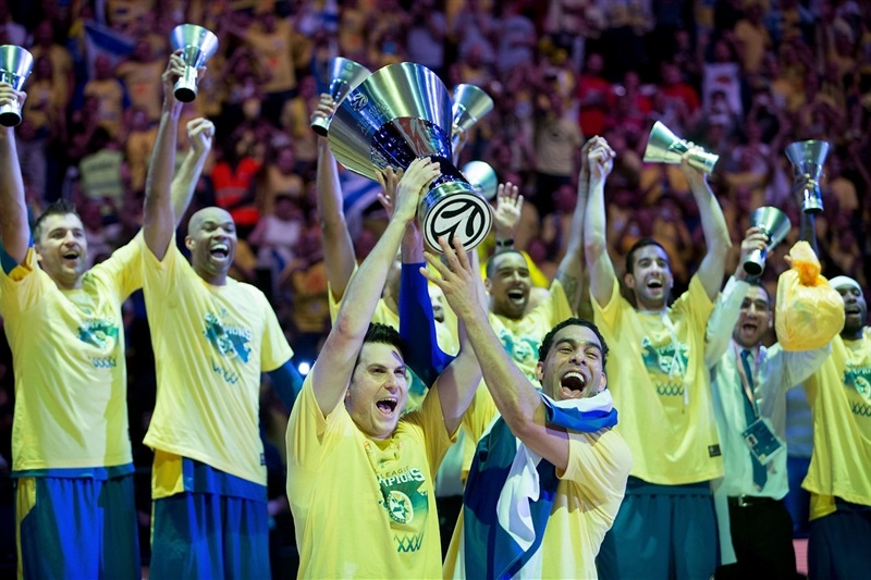 David Blu and Guy Pnini - Maccabi Electra is the new Champ - Final Four Milan 2014
