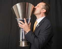 David Blatt - Maccabi Electra Trophy Photo Shoot - Final Four Milan 2014