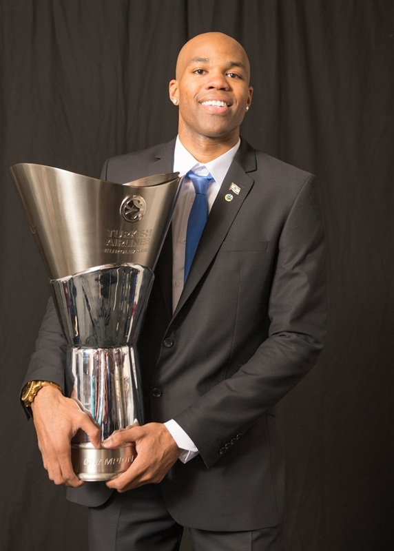 Alex Tyus - Maccabi Electra Trophy Photo Shoot - Final Four Milan 2014