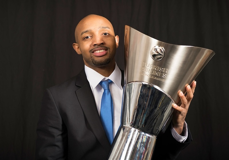Ricky Hickman - Maccabi Electra Trophy Photo Shoot - Final Four Milan 2014