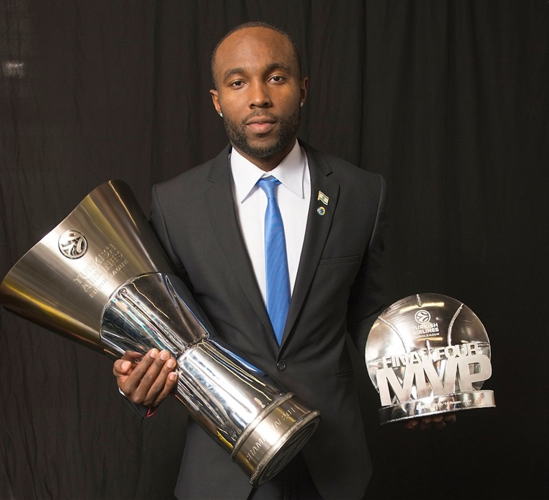 Tyrese Rice - Maccabi Electra Trophy Photo Shoot - Final Four Milan 2014
