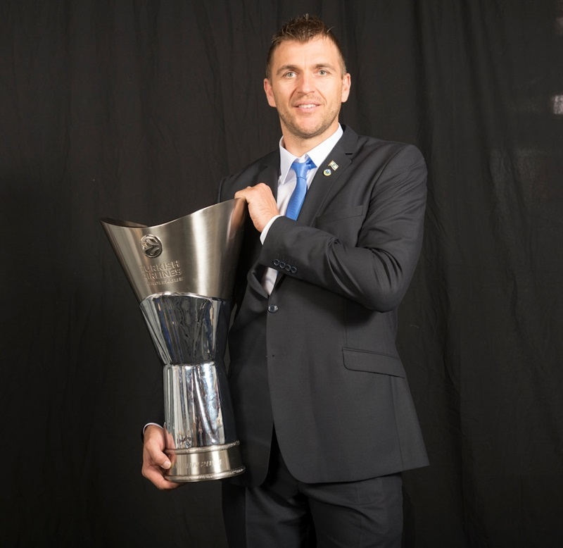 Andrija Zizic - Maccabi Electra Trophy Photo Shoot - Final Four Milan 2014